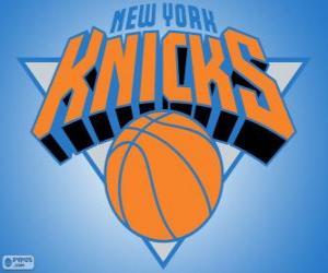 Puzzle Logo New York Knicks, équipe de NBA. Divisionde l'Atlantique,ConférenceEst