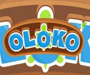 Puzzle Logo Oloko jeu de stratégie en ligne