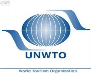 Puzzle Logo OMT, Organisation Mondiale du Tourisme