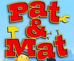 Puzzle Logo Pat et Mat