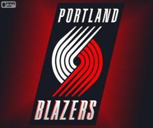 Puzzle Logo Portland Trail Blazers, équipe de NBA. Division Nord-Ouest, Conférence Ouest