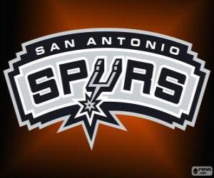 Puzzle Logo San Antonio Spurs, équipe de la NBA. Division Sud-Ouest, Conférence Ouest