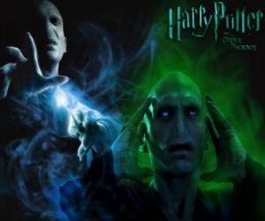 Puzzle Lord Voldemort est le principal ennemi de Harry Potter