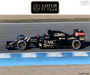 Puzzle Lotus F1 Team 2015