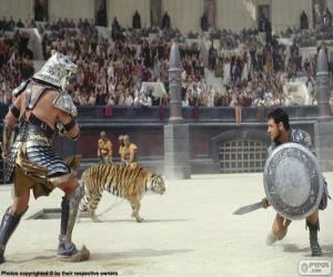 Puzzle Lute de gladiateurs