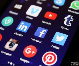 Puzzle Médias sociaux