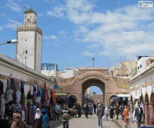 Puzzle Médina d'Essaouira, Maroc