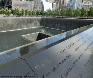Puzzle Mémorial du 11-S, New York