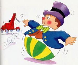 Puzzle M. Wobby, un drôle petit bonhomme avec une base ronde