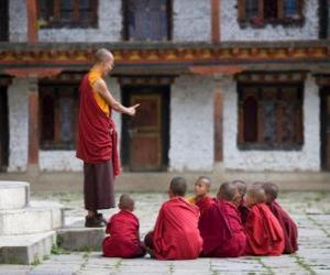 Puzzle Maître bouddhiste