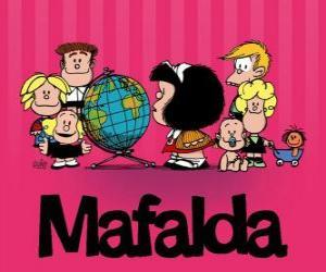 Puzzle Mafalda et amis