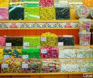 Puzzle Magasin de bonbons