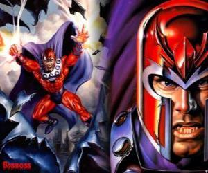 Puzzle Magnéto, le principal antagoniste des X-Men, les supervilain avec ses mutants à le désir de dominer le monde