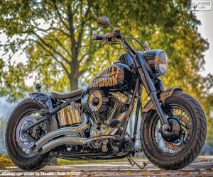 Puzzle Magnifique Harley-Davidson