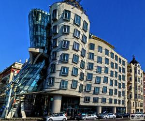 Puzzle Maison dansante, Prague