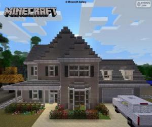 Puzzle Maison de Minecraft