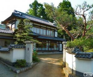 Puzzle Maison traditionnelle japonaise
