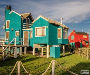 Puzzle Maisons, Santa Clara del Mar, ARG