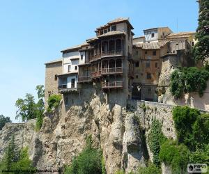 Puzzle Maisons suspendues, Espagne