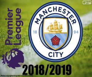 Puzzle Manchester City, champion 2018-19
