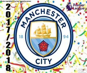 Puzzle Manchester City, Premier League 17-18