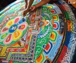Puzzle Mandala, dernières retouches