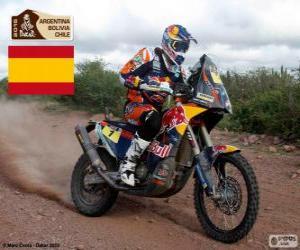 Puzzle Marc Coma, Dakar 2015