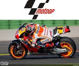 Puzzle Marc Márquez, champion du monde 2013 MotoGP