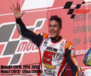 Puzzle Marc Márquez, MotoGP 2016