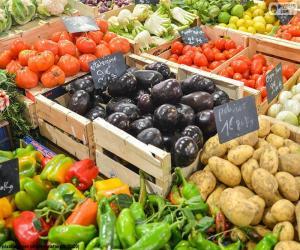 Puzzle Marché aux légumes
