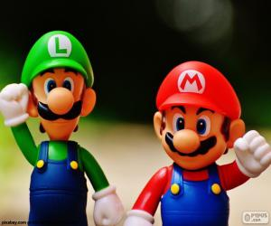 Puzzle Mario et Luigi