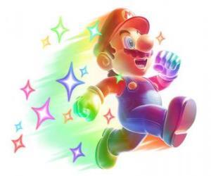 Puzzle Mario invincible