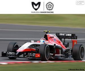 Puzzle Marussia Manor 2015