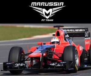 Puzzle Marussia MR01 - 2012 -