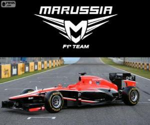 Puzzle Marussia MR02 - 2013-