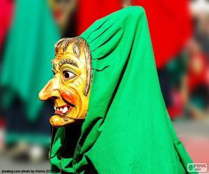 Puzzle Masque de sorcière