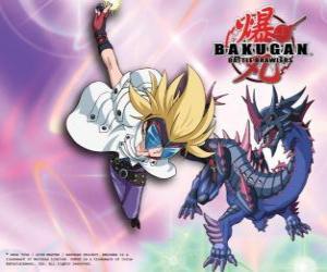 Puzzle Masquerade ses Bakugan Darkus Hydranoid
