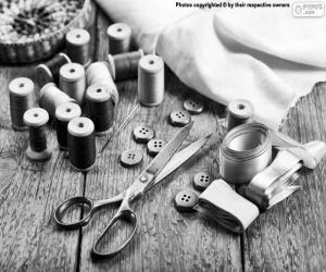 Puzzle Matériaux de couture