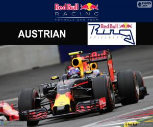 Puzzle Max Verstappen, G.P Autriche 2016