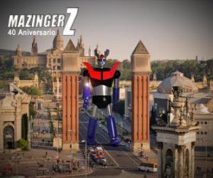 Puzzle Mazinger Z 40 anniversaire (1972-2012)