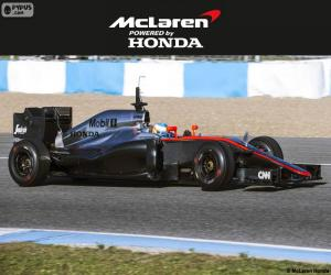 Puzzle McLaren Honda 2015