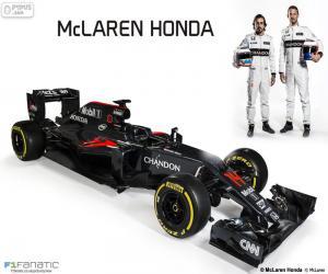 Puzzle McLaren Honda 2016