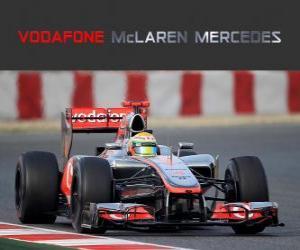 Puzzle McLaren MP4-27 - 2012 -