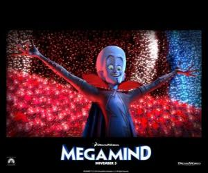 Puzzle Megamind est le super-vilain le plus brillant du monde