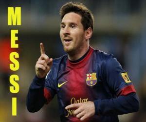 Puzzle Messi