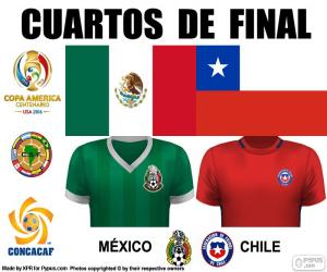 Puzzle MEX - CHI, Copa América 2016
