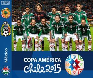 Puzzle Mexique Copa América 2015