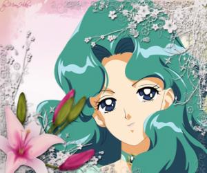 Puzzle Michiru Kaioh ou Mylène Kaiou devient Sailor Neptune