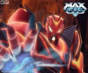 Puzzle Miles Dredd, le plus grand ennemi de Max Steel