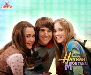 Puzzle Miley Stewart et ses amis